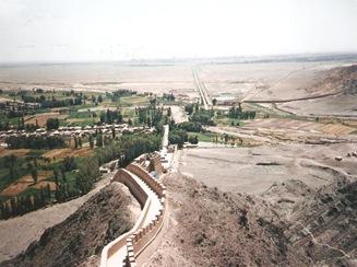 jiayuguan great wall 1