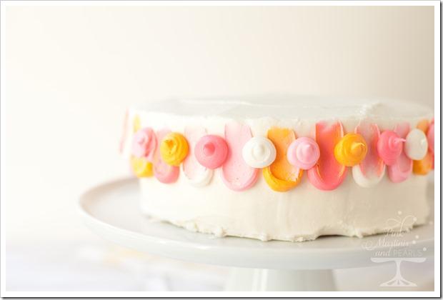 Pretty Pink Petal Cake Wilton 7553