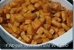 Finding Inspiration In Food: Apple Cider Glazed Sweet Potatoes