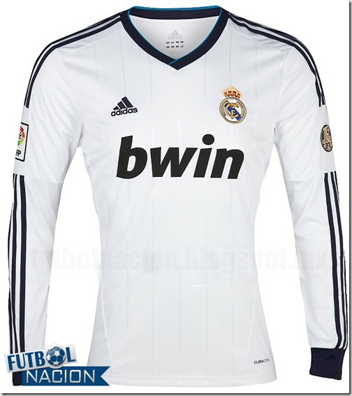 madrid home kit 12-13