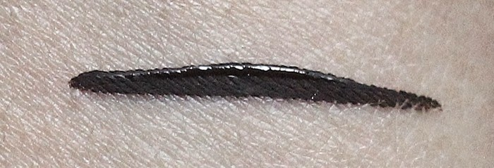 collection fast stroke eyeliner review and swatch
