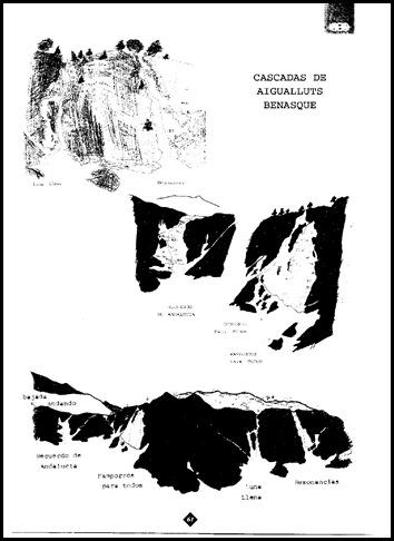 Aigualluts - Cascadas de Hielo (Croquis)