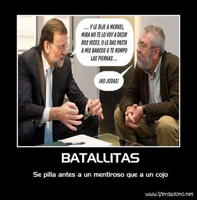 Rajoy batallitas