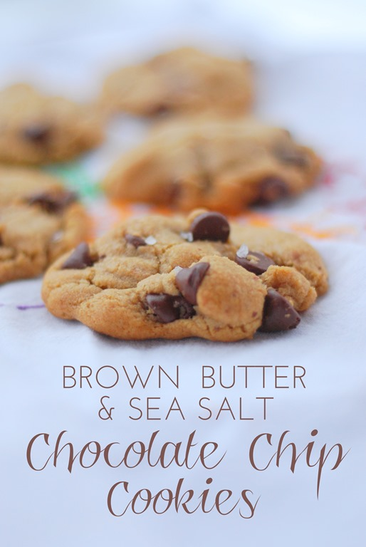 Brown Butter & Sea Salt Chocolate Chip Cookies