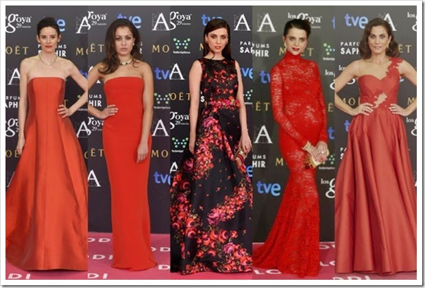 Premios Goya 2015 alfombra roja (1)