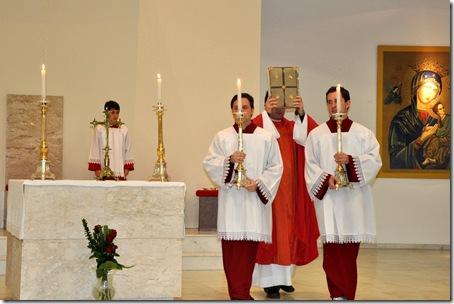 Sol. S. Pedro e S. Paulo - Procissão Evangelho
