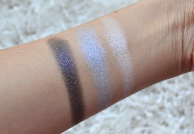 Shu Uemura Shupette Collection Eye Need Shu Blue Trio Review  Swatches