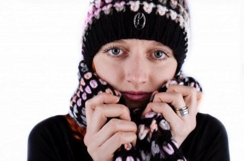 winter skin woman in hat