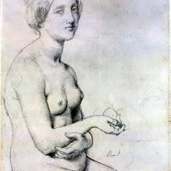 Ingres, Study for 'Vénus à Paphos' 1852.jpg