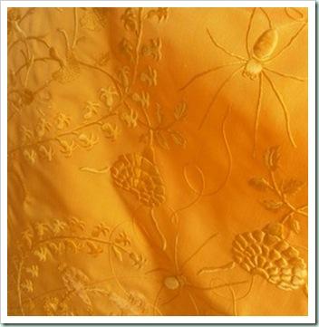 spider silk woven