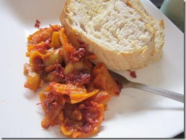 mb's corned beef pasta, 240baon
