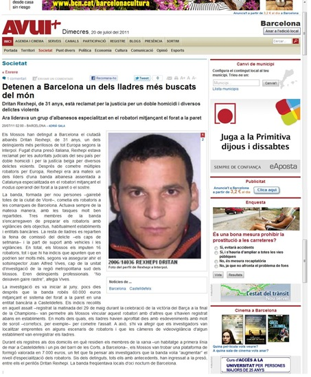 Albaneses AVUI 270711