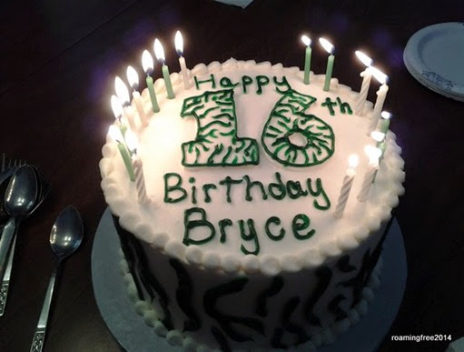 Happy Birthday Bryce!
