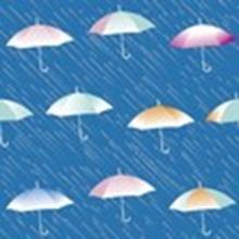 Бесшовные фоны дождь