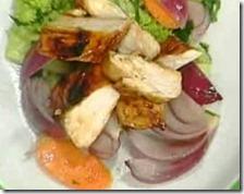 Petto di pollo laccato agli agrumi