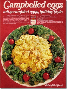 cambelled eggs