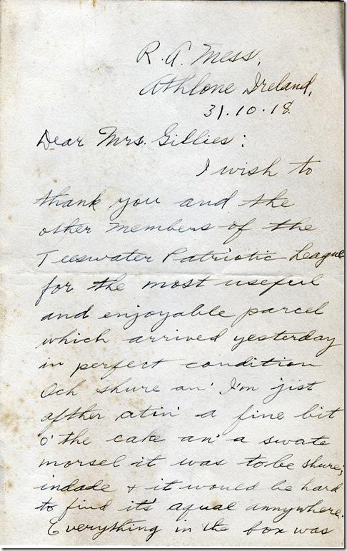 31 Oct 1918 1