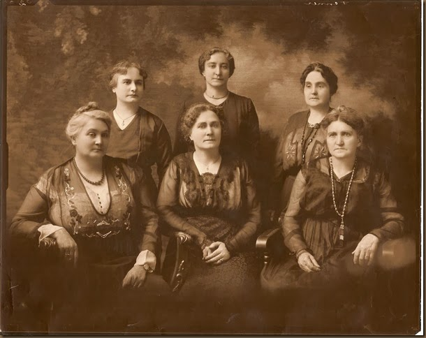 Hunter sisters-six of them-circa after 1892