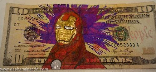 notas cédulas dollar geek nerd zoada desbaratinando  (5)