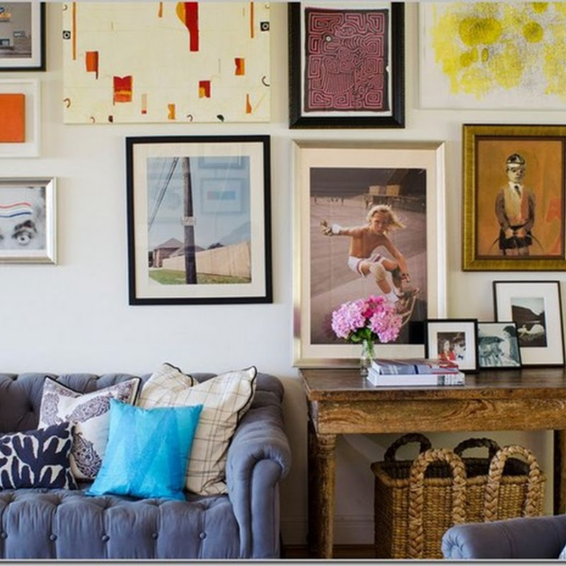 Gallery Walls: Keeping Them in Place.