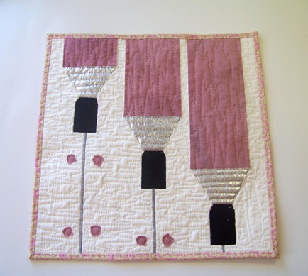 drywall Project quilting 2