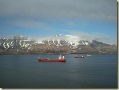 The Fjord and Mountains (Small)