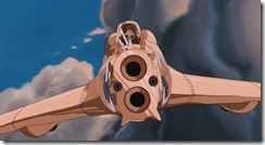 Nausicaa Mito in Gunship