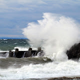 Big Waves on Lake Superior / Gooseberry State Park / Minnesota