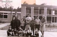 Maart 1966.  De nieuwe Boslustschool in gebruik genomen (1)