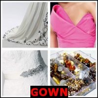 GOWN- Whats The Word Answers