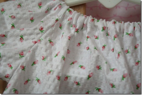 baby dress closeup