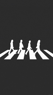 Beatles iphone6 wallpaper