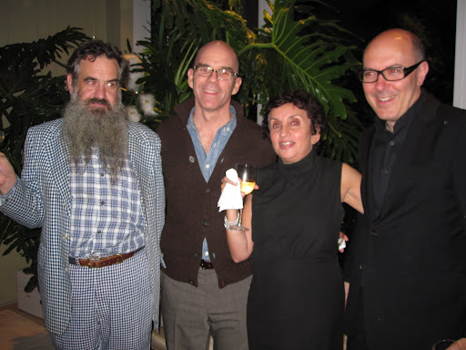 Fritz Karch, Tod Morehead, Denise Clappe and David Mann