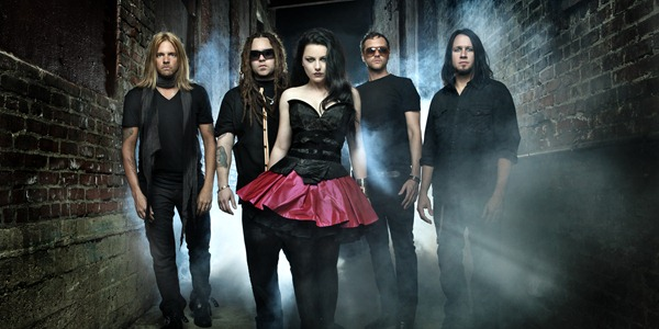 Evanescence 2011 brand new metal