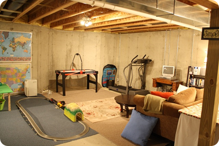 Underground Family Room