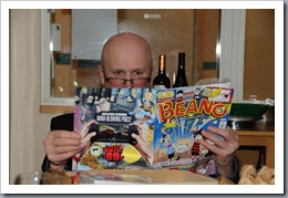 Erny and his comic