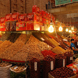 Urumqi - Grand Bazar, Etal de Fruits secs