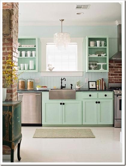 Conchita Home  Modne kolory mięta -> Kuchnia W Kolorze Mietowym