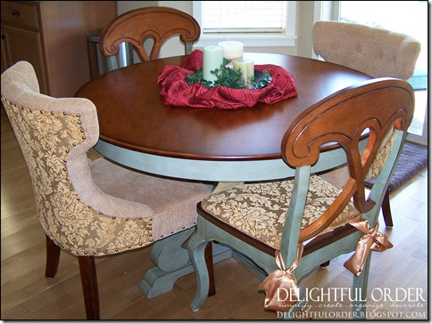 The Table And Chairs Are Again From Pier One My Clients Home Was A Model Before She Moved In Builder Had As Part Of