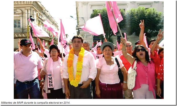 Partidos políticos en Bolivia