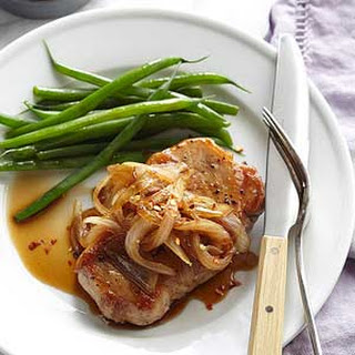 Brown Sugar Pork Chops with Onions