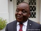 Mbusa Nyamwisi, candidat à la présidentielle 2011, lors d'une interview accordée à la Radio Okapi. Ph. John Bompengo