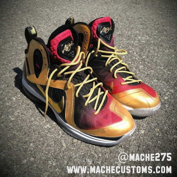 If You8217re Sick of Waiting8230 LeBron 9 PS Elite MVP Custom by Mache