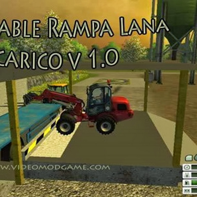 Farming simulator - Placeable Rampa Lana carico v 1.0