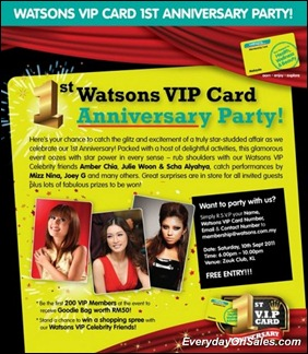 Watson-VIP-Card-1st-Anniversary-2011-EverydayOnSales-Warehouse-Sale-Promotion-Deal-Discount