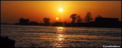 Apus de soare in Sulina