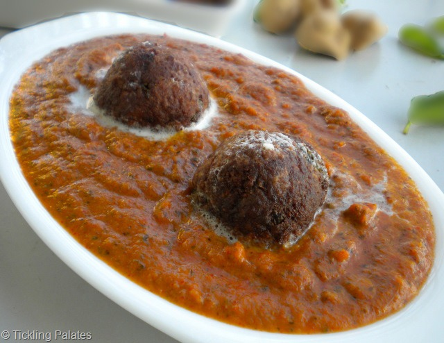 Soyachunks Kofta Curry