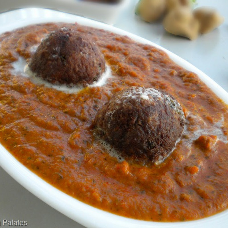Soya Chunks Kofta Curry | Easy Soya Chunks Recipe
