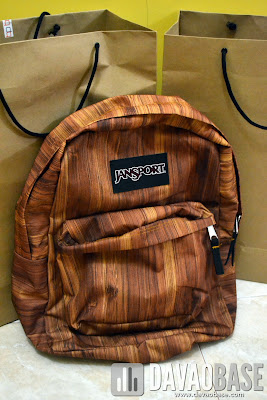 Rustic Jansport backpack from Bratpack Abreeza