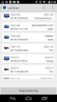 Screenshot of LAN Scan - Network Device Scan